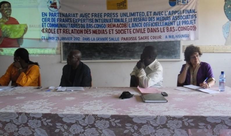 Bas-Congo : médias communautaires et société civile ensemble pour l'intérêt des habitants