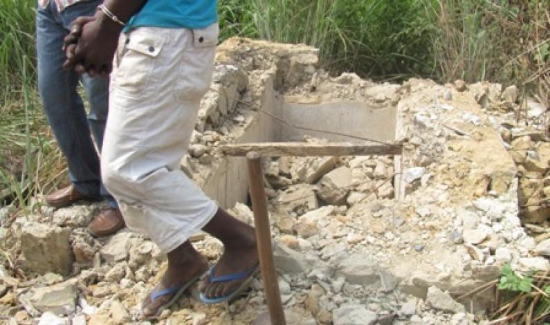 Matadi : des maisons anarchiques détruites par la mairie