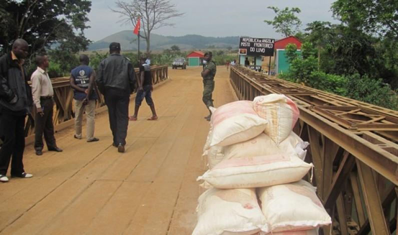 Lufu : l'affaissement du pont arrête le trafic des commerçants de deux rives