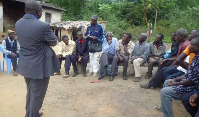Mbuku Sisa-Yanga di Kitembila : le conflit foncier avec la Scam en voie d'être réglé