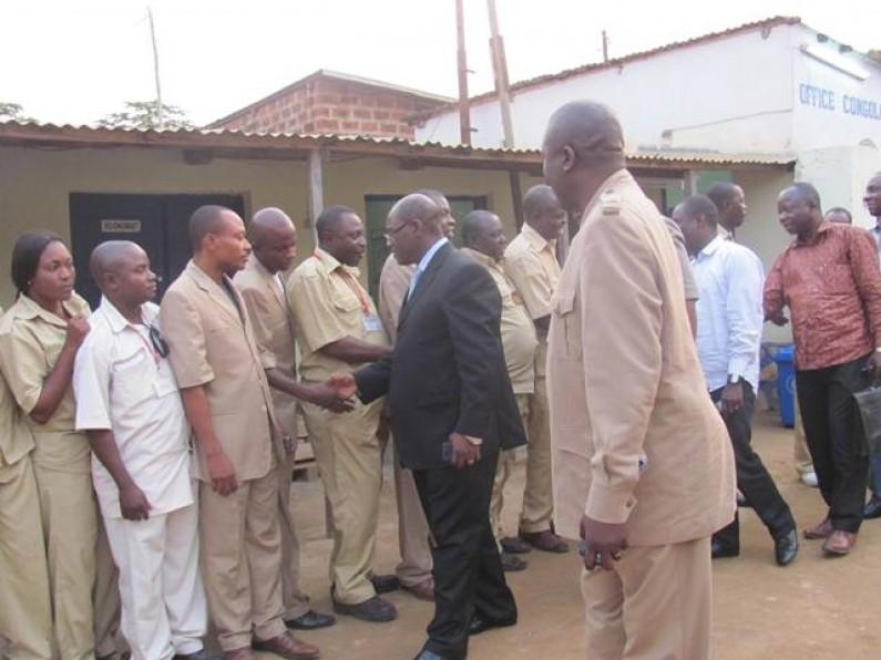 La haute hiérarchie de l'OCC félicite l'agence de Lukala pour son travail