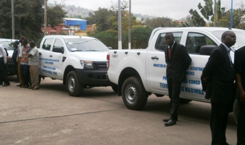 Bas-Congo :Des véhicules de travail pour les administrateurs des territoires