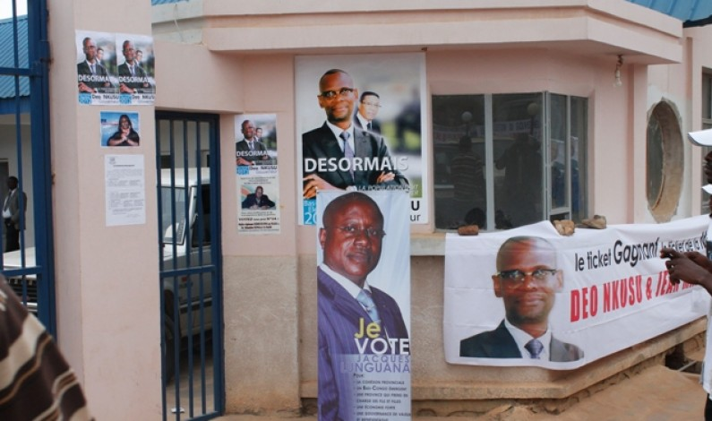 Campagne électorale : '' …Je suis content car, Deo Nkusu a bien assimilé la leçon…''