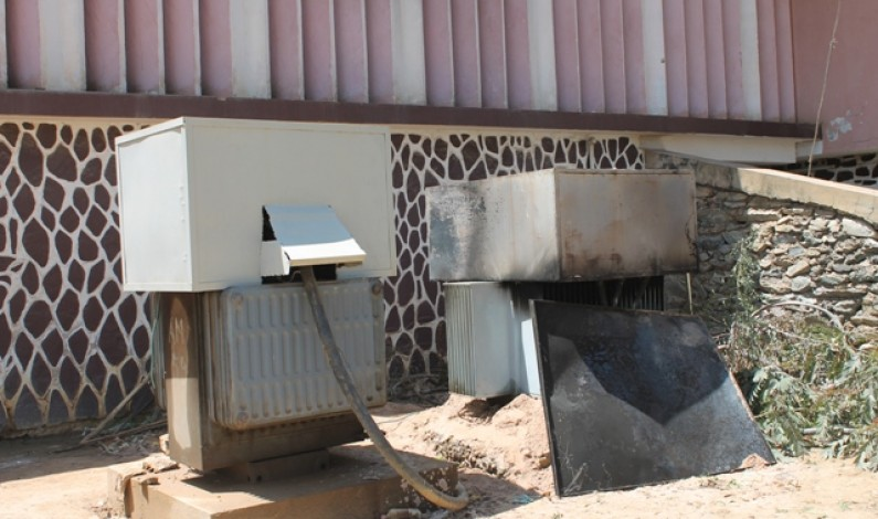 Matadi:incendie de la cabine électrique de l'hôpital kinkanda