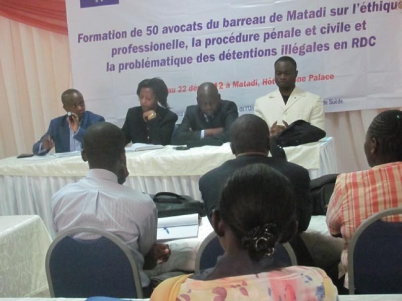 Bas-Congo : Des avocats en formation pour mieux exercer leur profession