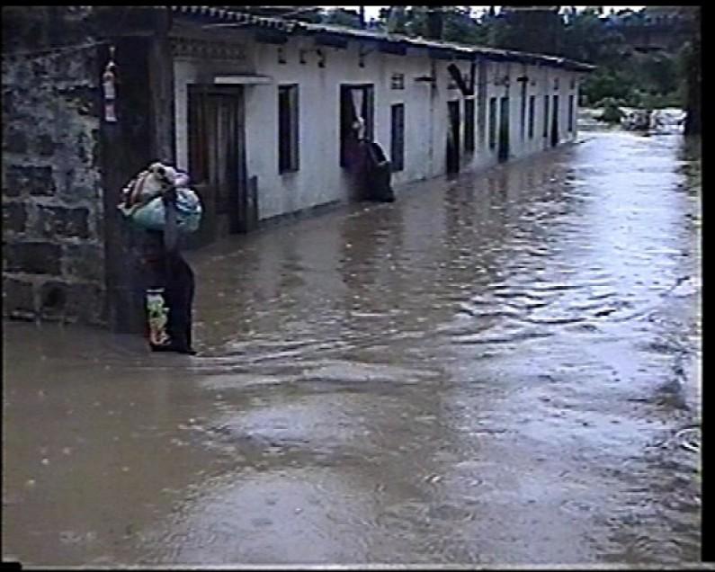 Des dégâts matériels après la pluie à Boma