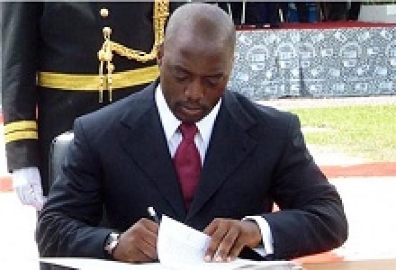 Rd Congo : Les trois nouveaux gouverneurs et leurs vice-gouverneurs investis