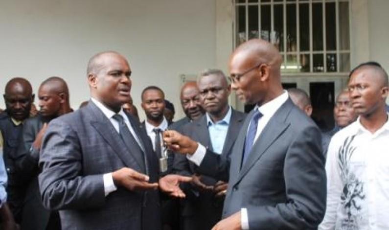Bas-Congo : Excellente remise et reprise entre Jacques Mbadu et Deo Nkusu