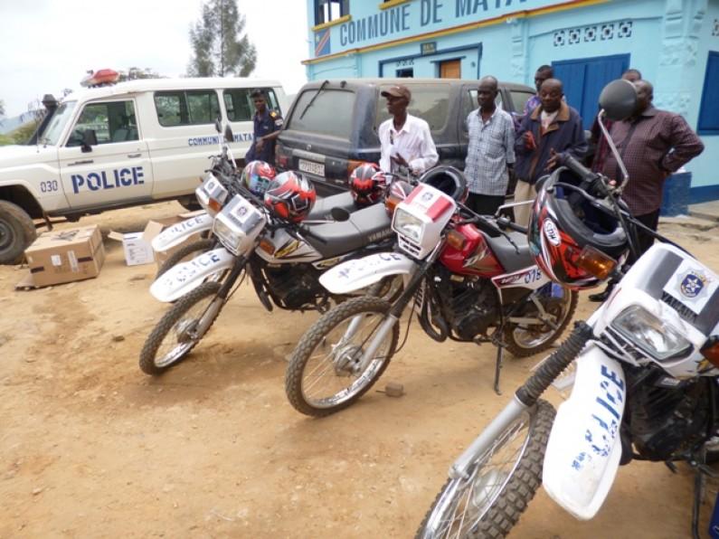 Des policiers de proximité pour la commune de Matadi