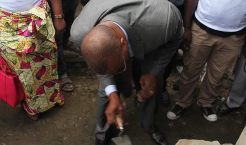 Kiamvu : lancement des travaux de construction d'un restaurant du cœur