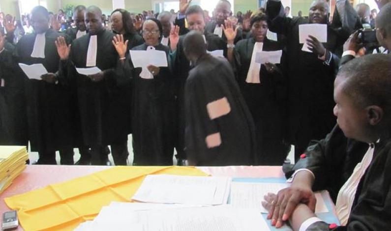 Bas- Congo : le bâtonnier invite les avocats stagiaires à respecter leur serment