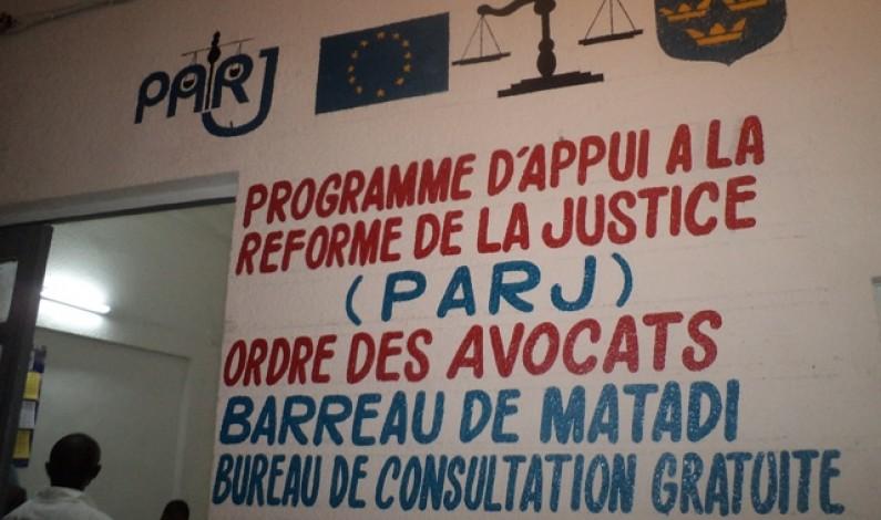 Matadi : de l'aide  pour des justiciables indigents