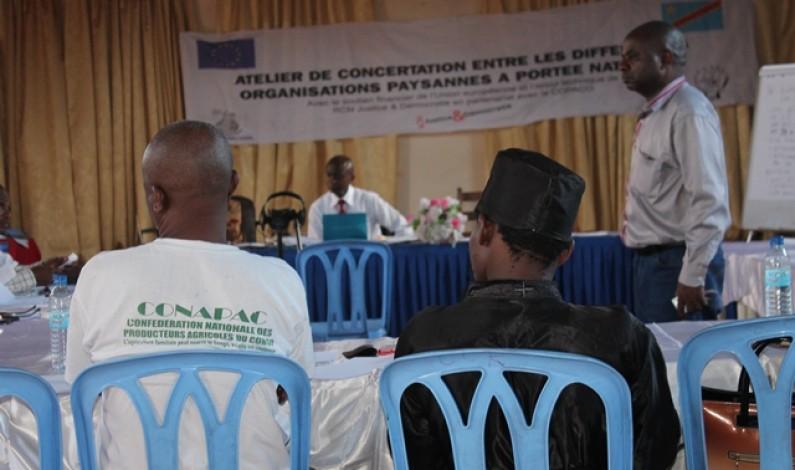 Rd Congo : ''…tout ce qui se fait sans les paysans et contre les paysans''