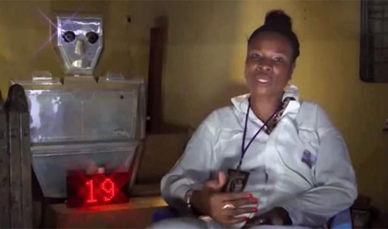 Kinshasa:la parole à Thérèse Kirongozi qui a inventé le robot roulage