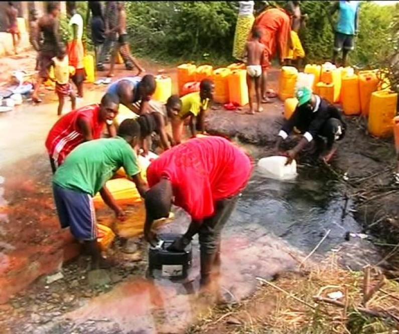 Luozi : la pénurie d'eau potable perdure