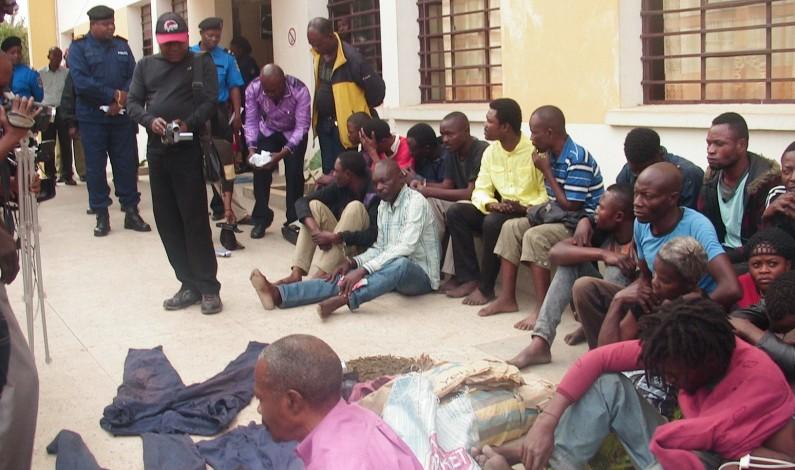 Kongo central: la police démantèle un réseau de présumés malfaiteurs à Matadi