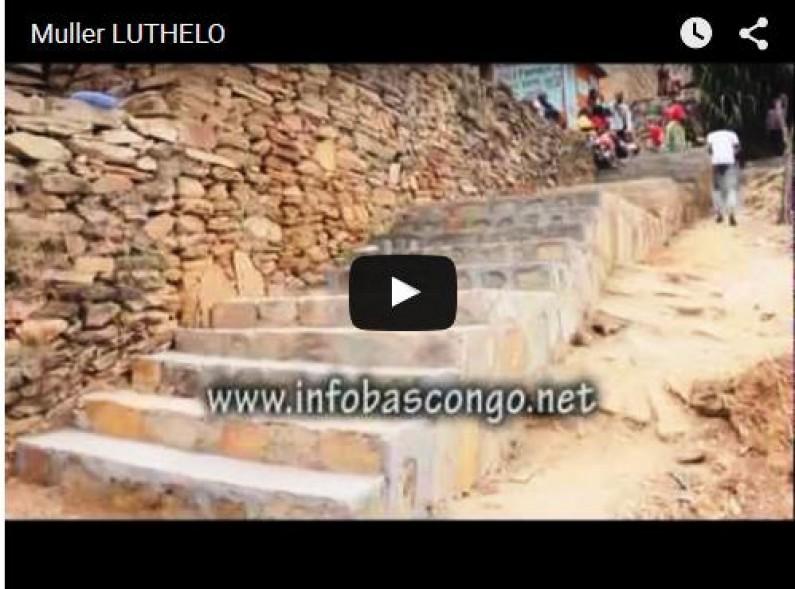 Inauguration du pont jeté par l'honorable Muller Luthelo à Nzinga Lutete à Matadi/Reportage Infobascongo