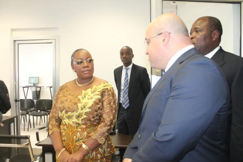 Kinshasa : la ministre du Commerce apprécie le travail de la SEGUCE