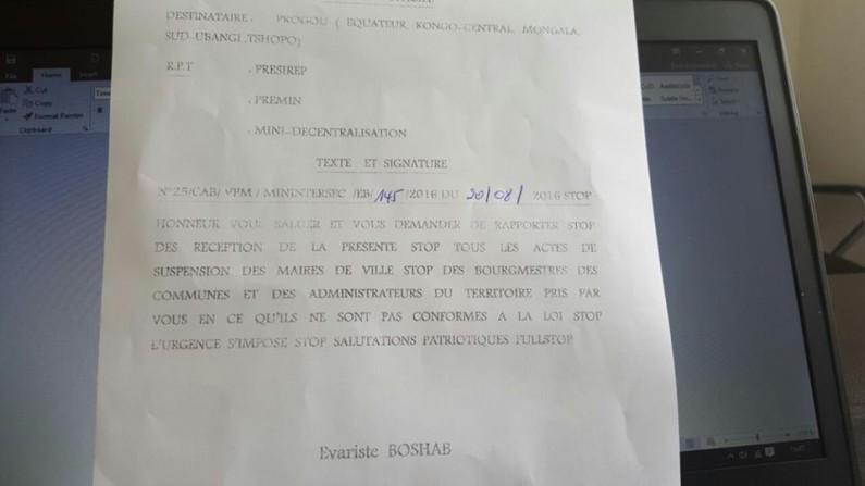 RDC : les territoriaux suspendus par les gouverneurs reprennent leurs postes
