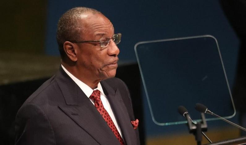 Alpha Condé,le nouveau président de l'Union africaine
