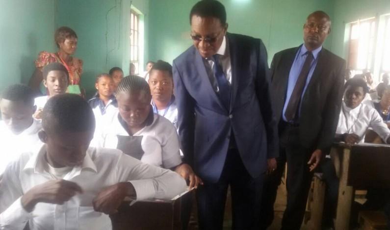 RDC:démarrage de la 51ème session de l'examen d'Etat