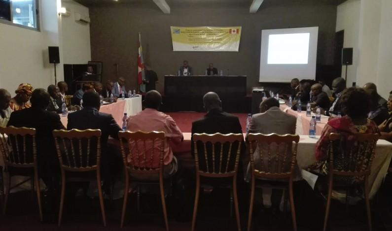 RDC : policiers, personnel de la justice et travailleurs sociaux mis au parfum des résultats de la cartographie des outils de gestion des données dans le secteur de la protection de l'enfant