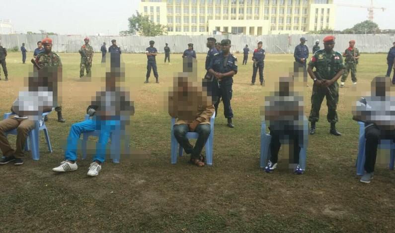 Kinshasa:des contradictions sur les présumés auteurs des attaques des cachots,prison et du marché central