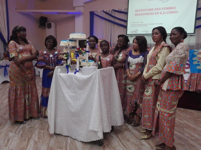 Kinshasa : l'Union congolaise des femmes des médias fête ses 20 ans en passant le flambeau