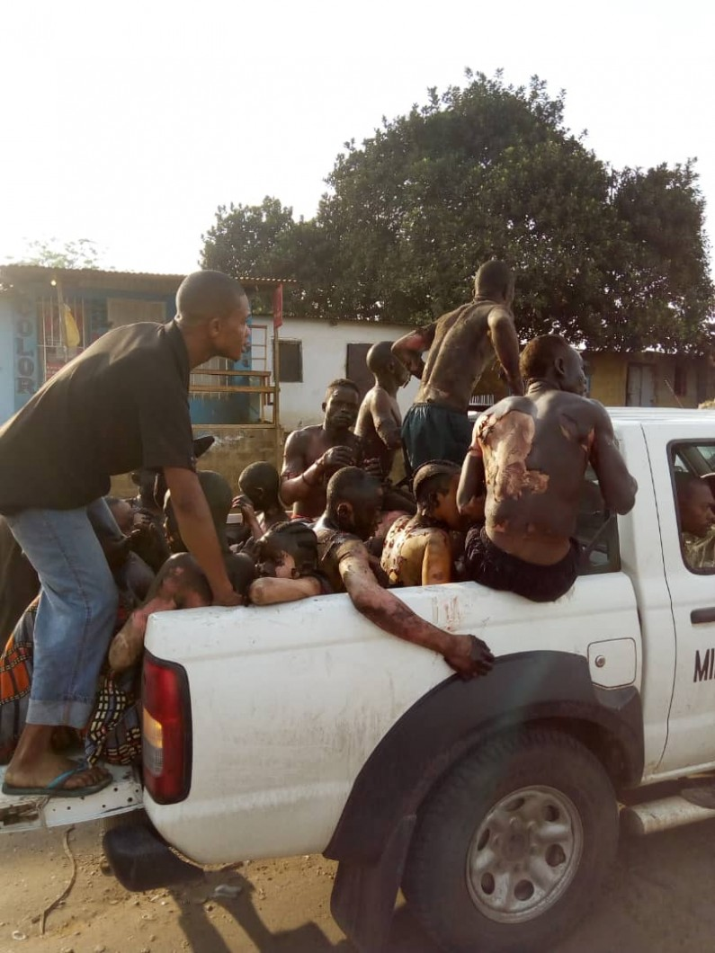 Mbuba:une collision entre un bus et un camion cause de multiples dégâts et de morts