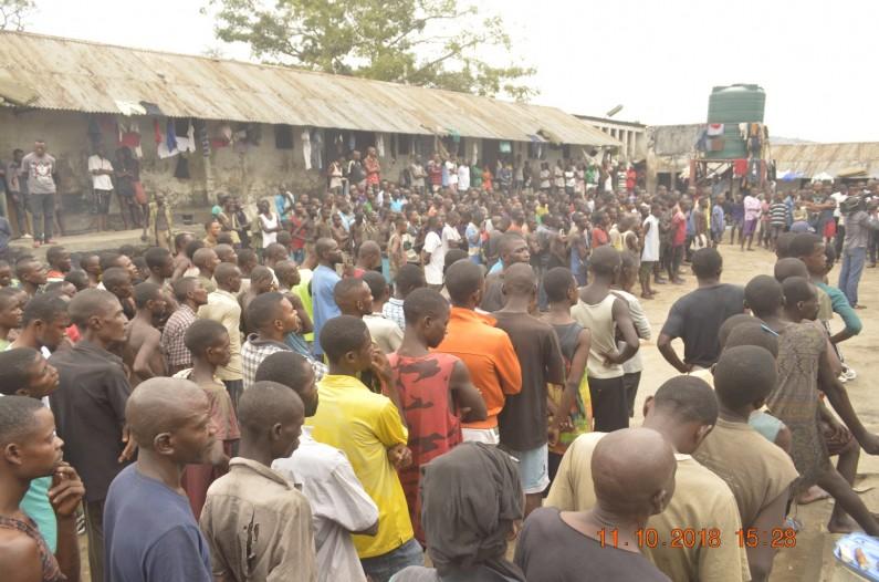 Soins de santé et alimentation des prisonniers du Camp Molayi à Matadi:priorité du ministre provincial de la Justice