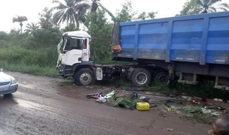 Kisantu: 27 morts bilan provisoire d'un accident de circulation