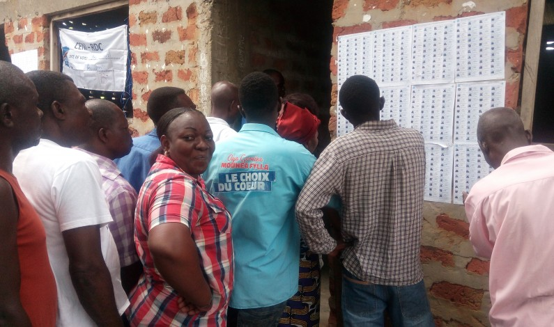Matadi: les habitants votent dans le calme et vite