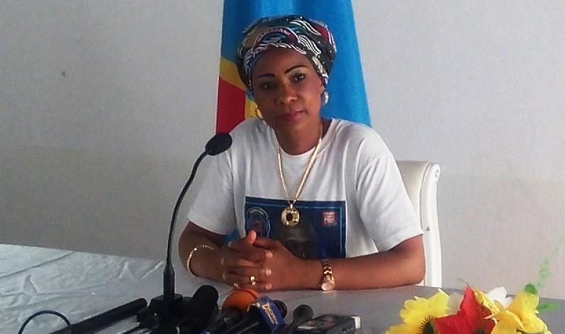 Olive Lembe Kabila à la presse de Matadi :''Je continuerai à servir les Congolais à la limite de mes moyens''