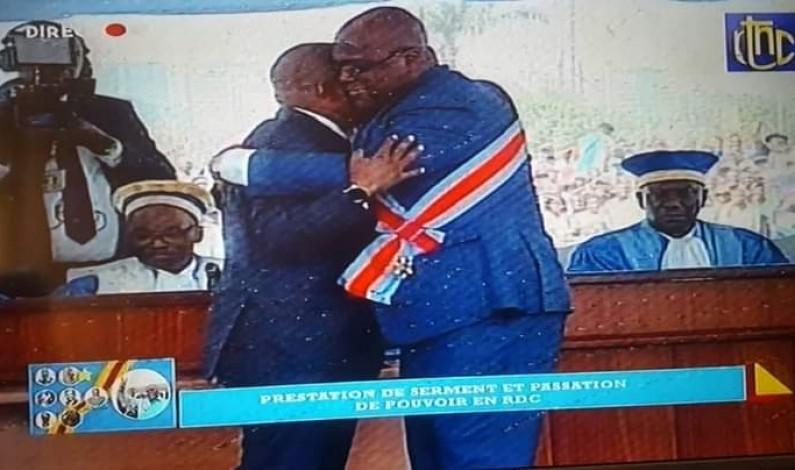 Felix Tshisekedi 5ème président de la RDC prend ses fonctions