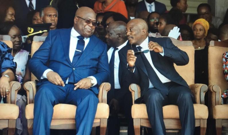 RDC: des incidents à la cérémonie d'investiture de Felix Tshisekedi.