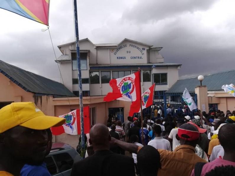 Kongo central: l'Assemblée provinciale sous haute surveillance policière