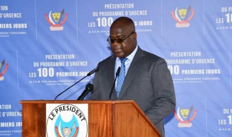 Le Kongo central bénéficie de 11,3% du programme d'urgence de Félix Tshisekedi