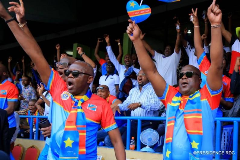 CAN 2019:Felix Tshisekedi signe sa première victoire avec les   Léopards