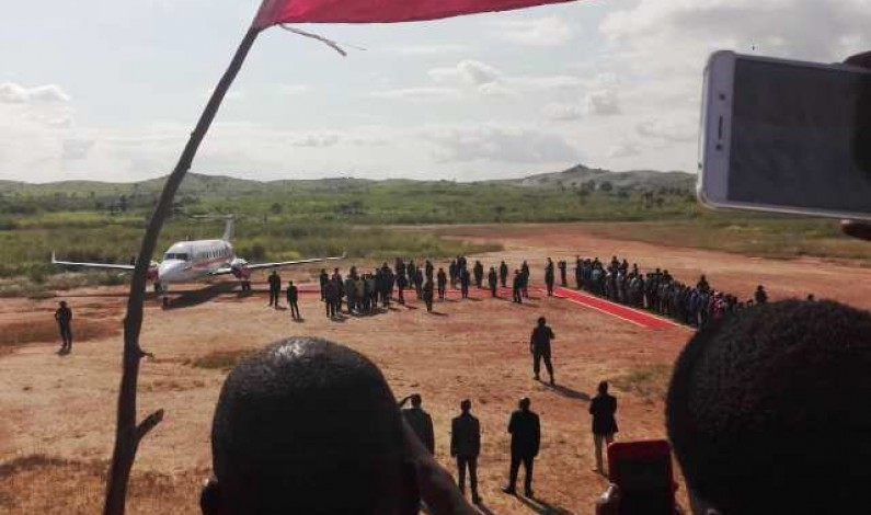 RDC:Felix Tshisekedi est arrivé à Boma