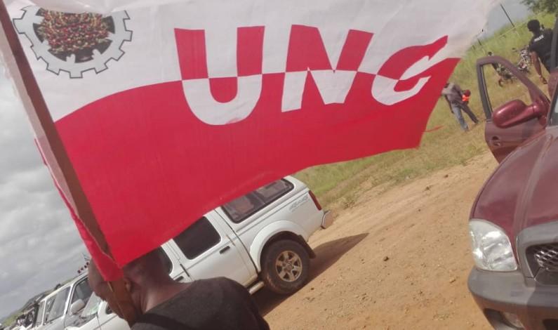 Accueil de Tshisekedi à Boma:seulement cinq drapeaux des partis politiques flottent à l'aéroport de Lukandu