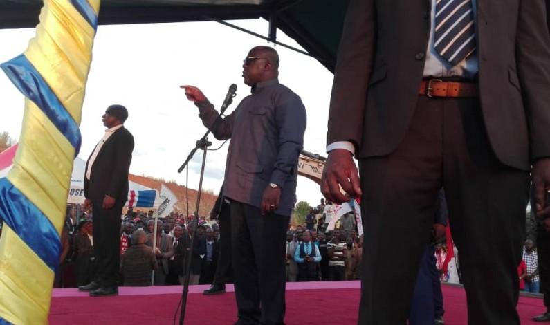 """Felix Tshisekedi à Boma:""""Je suis président pour travailler pour le peuple"""
