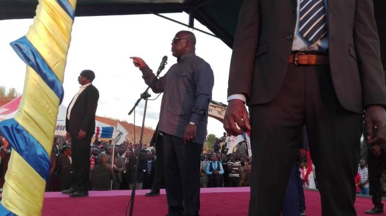 Felix Tshisekedi à Boma:»Je suis président pour travailler pour le peuple