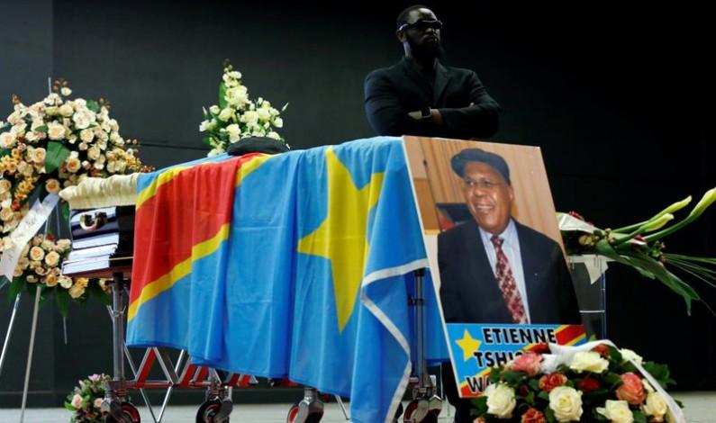Etienne Tshisekedi Grand coordon de l'ordre national héros nationaux Kabila-Lumumba