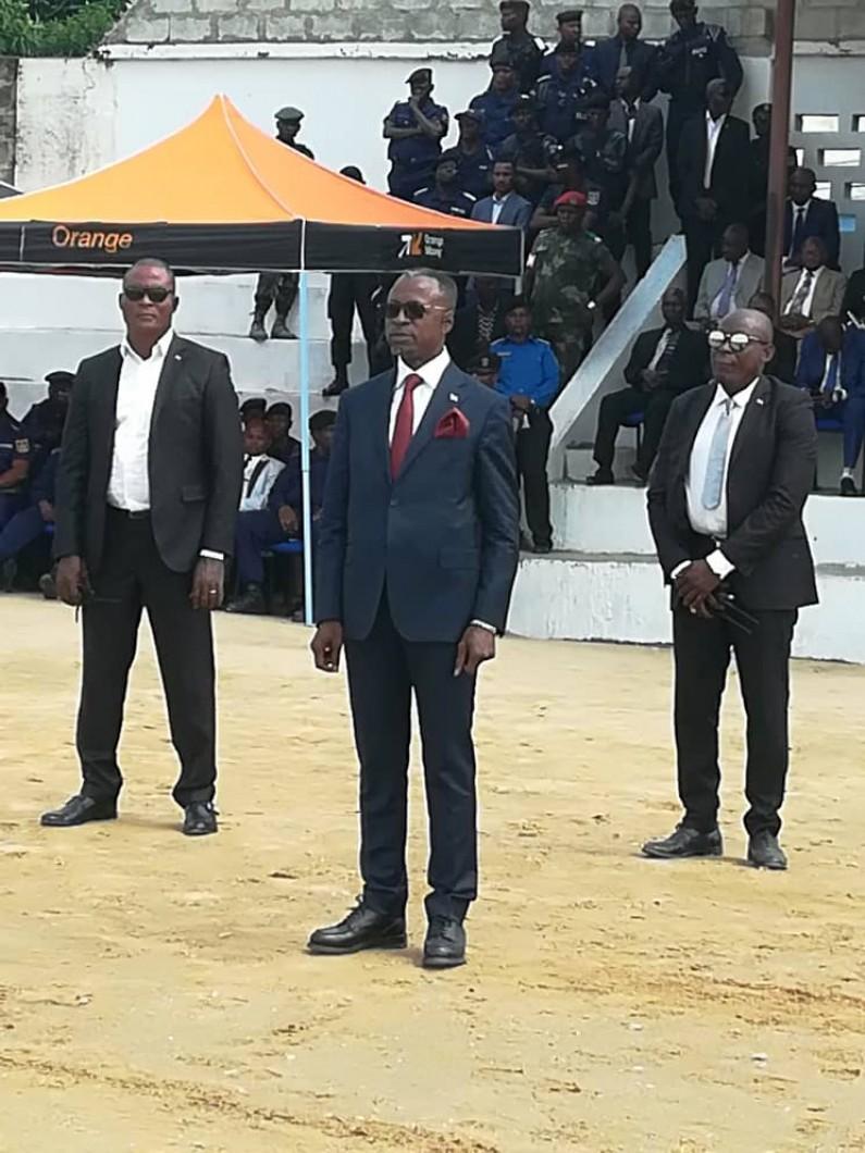 Face à l'insécurité grandissante au Kongo central,le gouverneur promet d'équiper la police
