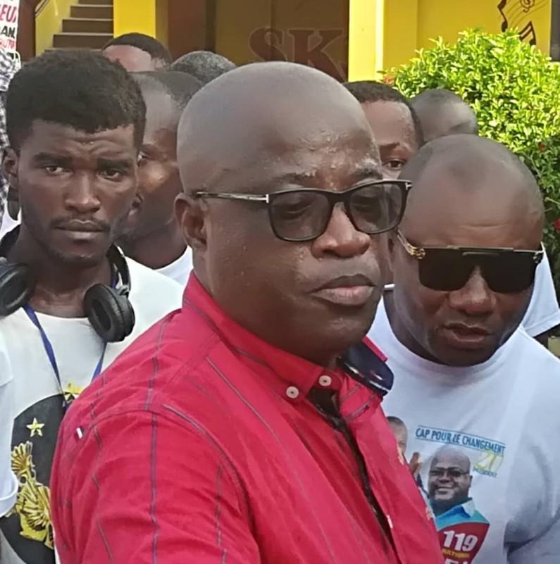 José Ntedika, conseiller de Felix Tshisekedi aux Matadiens:»le projet du port en eau profonde de Banana est très avancé»