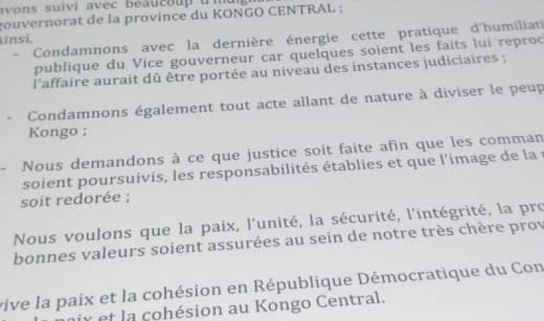 Kongo central: le Cafco pour des poursuites contre les commanditaires de l'affaire Justin Luemba