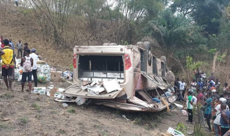 Quatre morts dans un accident de route vers Nduizi au Kongo central