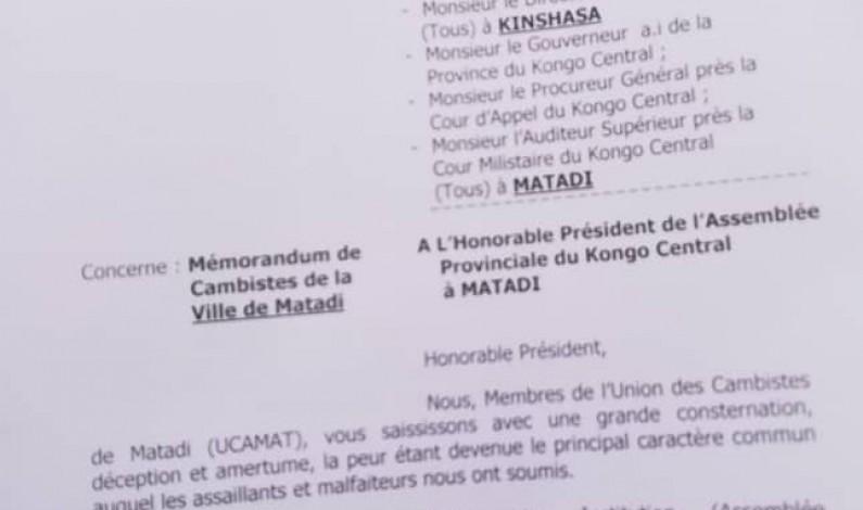 Matadi: le ras-le-bol des cambistes, victimes d'assassinats