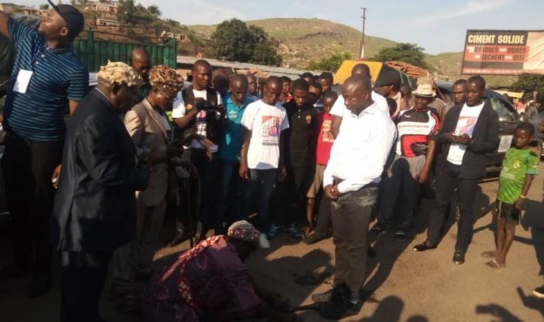 Après sa nomination au poste de DGA de l'OEBK, Jean-Claude Mavambu arrive à Matadi en triomphe