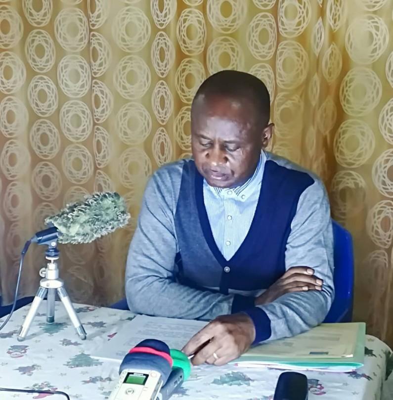 """Pierre Kabangu: """"La décision qui me relève de mes fonctions viole la Constitution, je m'y oppose"""""""